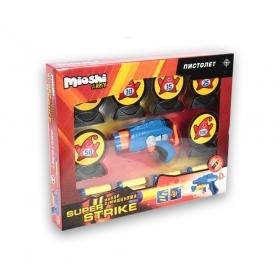 """Mioshi Army. MAR1102-001/002 Пистолет """"Super Strike"""" с пулями и мишенями"""