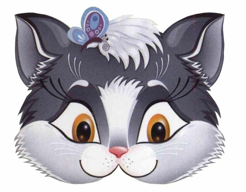 Как сделать маска кота