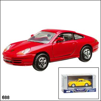 """Autotime. 1:43 Машина арт.73401/26 """"PORSCHE 911 CITY VERSION"""""""