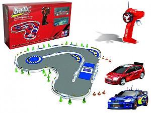 """AULDEY.1:40 """"Трек BMW + Peugeot"""" арт.YW299101 на батарейках (в коробке)"""