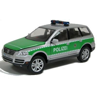 "Cararama.1:24 Фольксваген Туарег ""Полиция"" арт.123X-002 (Junior Rescue)"