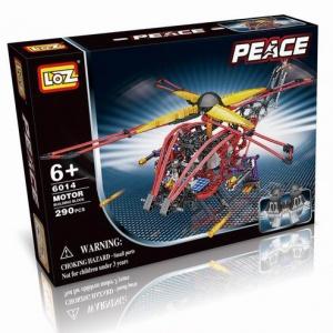 """LOZ-A 6014.Вертолет электромеханический """"Модель 4"""" (400 дет.)"""