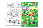 """Луч. Набор для рисования карандашами """"Волшебный лес"""" арт.21С 1367-08 /11"""