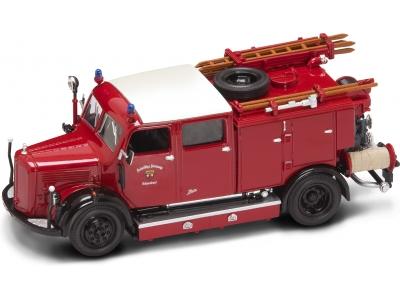 "Yat Ming.43013 1:43 Пожарная машина ""Mercedes Benz TLF-50"" 1950 г."
