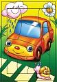 """Развивающая рамка """"Маленький автомобиль"""" 10 дет.1199 /50"""