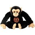 """Диалоги о животных. Мягкая игрушка """"Шимпанзе"""" 17,5 см. арт.MK-07SK013"""