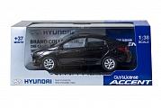 "Модель пласт. бокс арт.PS-01 ""Hyundai Solaris/Accent"" 1:38 12/48"