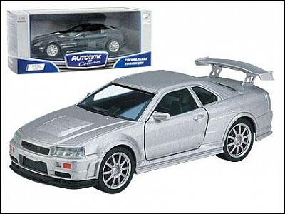 "Autotime. 1:32 Машина арт.DP5701 ""Nissan Skyline R34"""