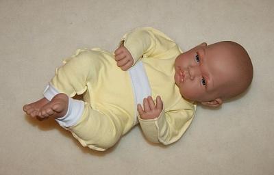Комплект желтый с белым