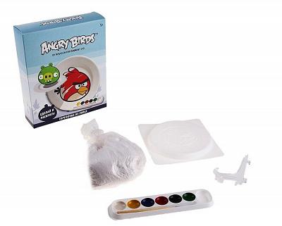 Центрум. Angry birds 84950 Сделай тарелку из гипса