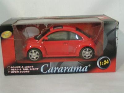 Cararama.1:24 Мини купер  VW Жук со звуком арт.124