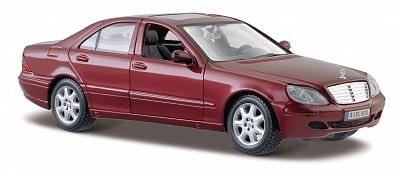 Maisto.1:24 Mercedes-Benz  S-класс  арт.31955 /12