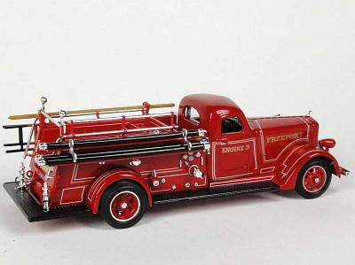 "Yat Ming.43007 1:43 Пожарная машина ""American LaFrance B-550RC"" 1939 г."