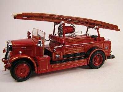 "Yat Ming.43009 1:43 Пожарная машина ""Leyland FK-1"" 1934 г."