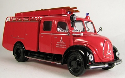 "Yat Ming.43010 1:43 Пожарная машина ""Magirus-Deutz Mercur TLF16"" 1961 г."