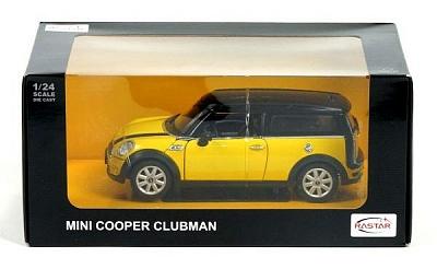 "Машина RASTAR арт.37400 ""MINI COOPER CLUBMAN "" 1:24"