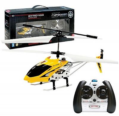 """Вертолет с гироскопом """"Gyro-109"""" ИК USB-зарядка 3 канала 52819"""