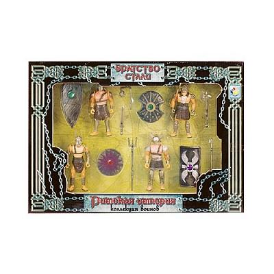 """Набор """"Римская империя"""" из 4-х воинов арт.51900"""
