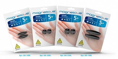 "Magneticus.Цикада магнит. ""Овалы"" 16 мм арт.SМ-16BL /24"