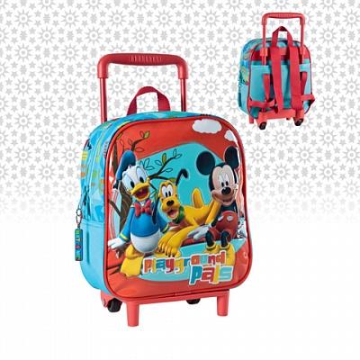 Чемодан (рюкзак) 29126 детский на колесиках 25 см. ТМ DISNEY