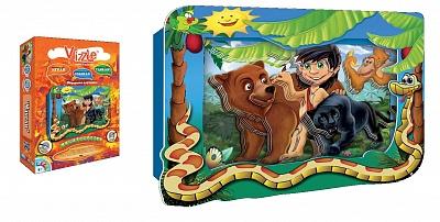 """Vizzle. 0126 Объемная картинка """"Маугли"""" /100"""