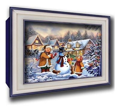 """Vizzle. 0198 Объемный постер """"Рождественская история"""""""