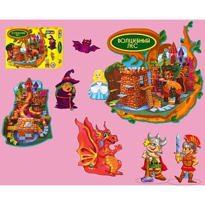 "VladiToys. 3Dpuzzle ""Волшебный лес"" (61 деталь)"