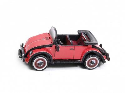 """УмБум188 Машина """"Volkswagen Beetle"""" в асс-те  /80"""