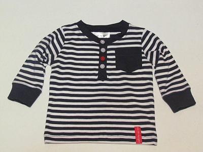 Рубашка - поло в сине-белую полоску KappAhl