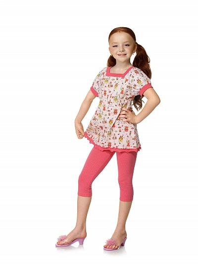 Пижама с леггинсами