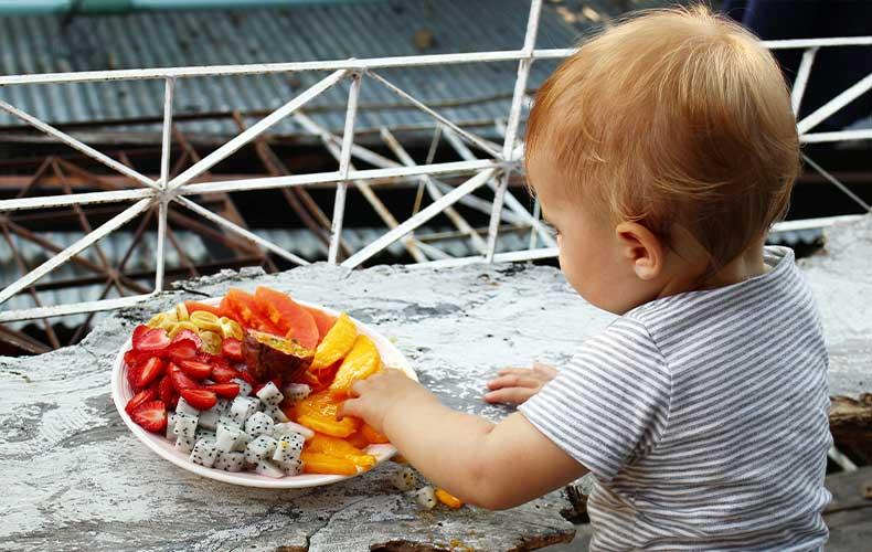 Экзотические продукты в рационе малыша