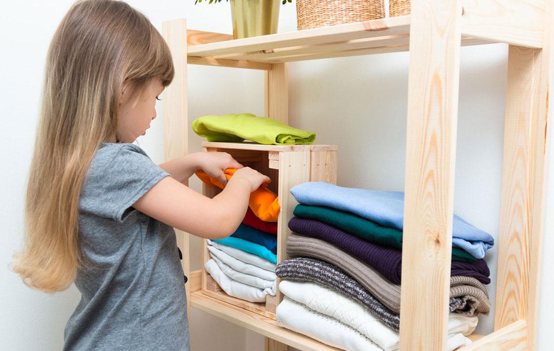 Домашние обязанности для малыша