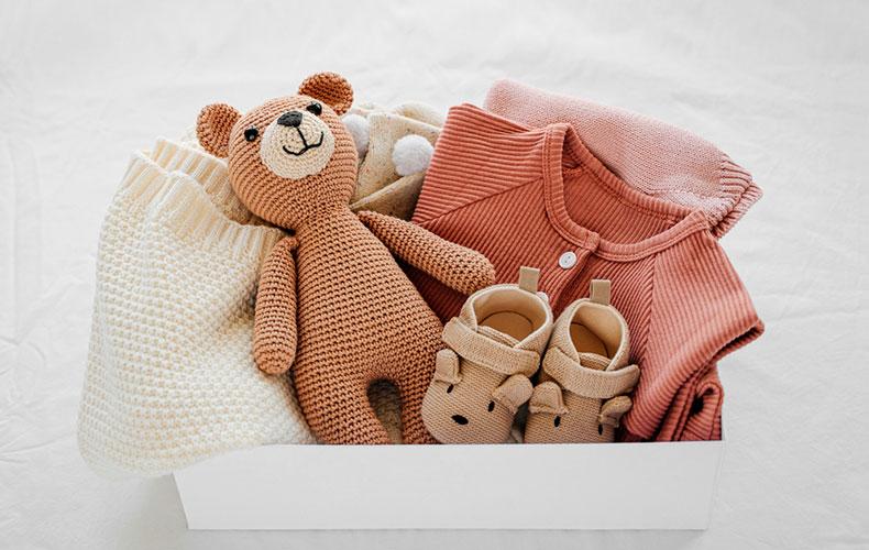 Чеклист вещей для новорождённых