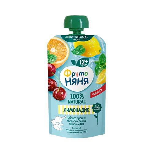 Лимонадик Яблоко-арония-апельсин-вишня-лимон-мята