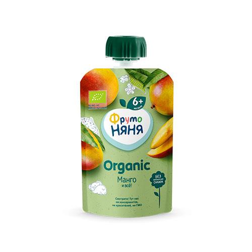 Пюре из манго ORGANIC