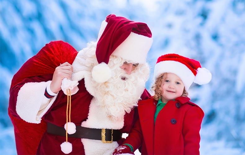 Знакомство с Дедом Морозом