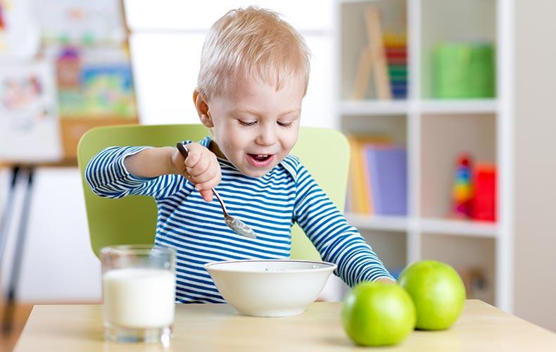 Закладываем правильные пищевые привычки