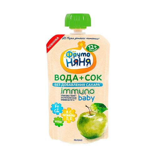 Вода+Сок Immuno Baby Яблоко