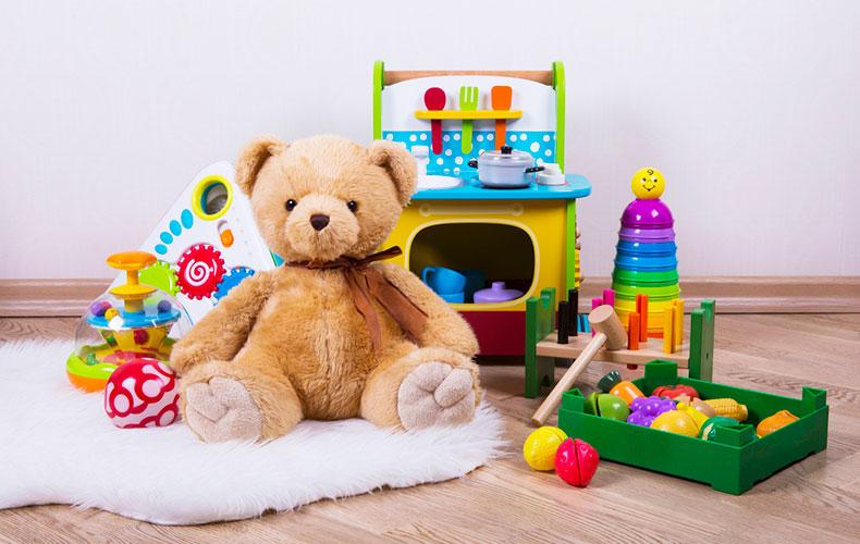 Выбор игрушки для детей разных возрастов