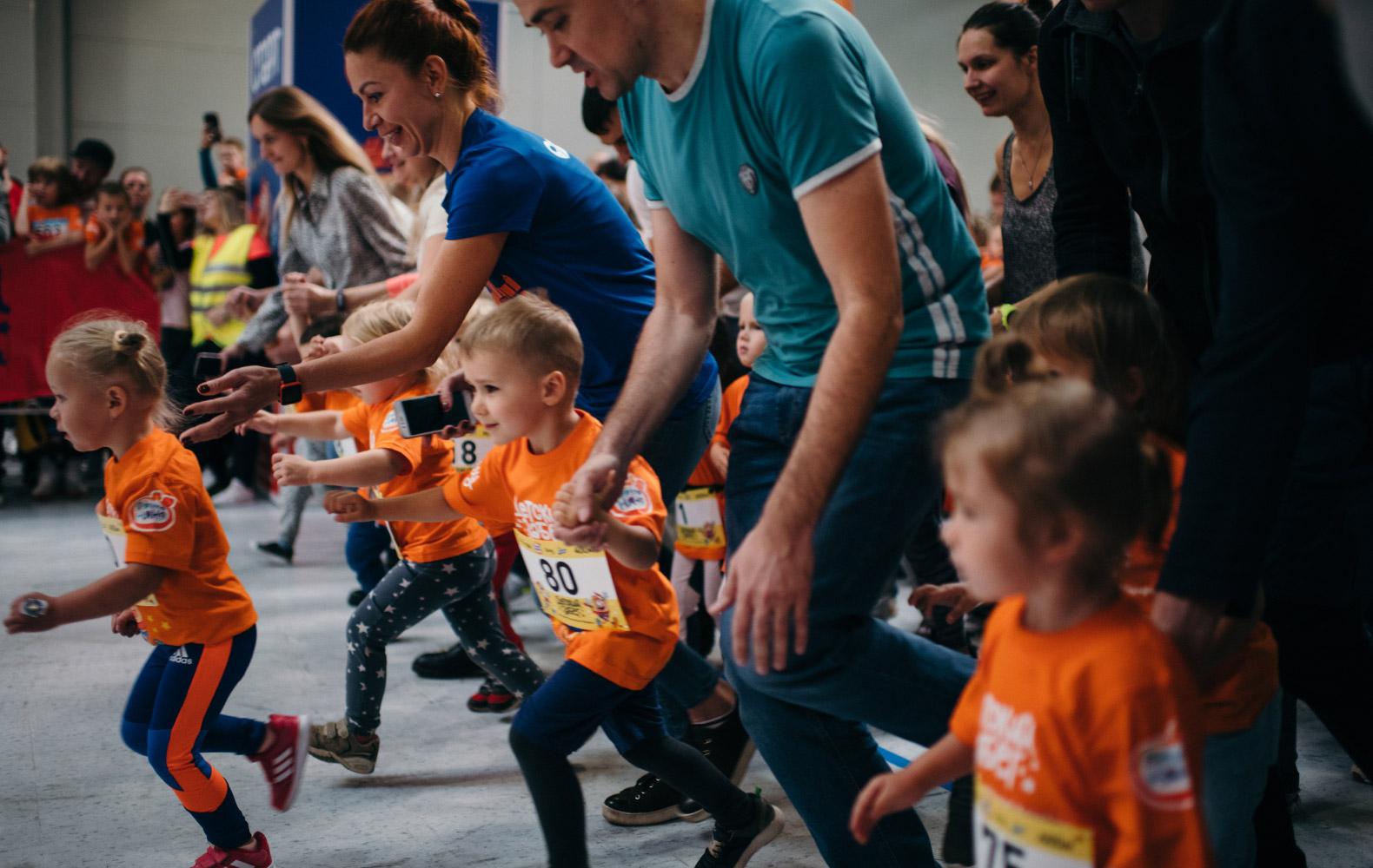 «ФрутоНяня» – генеральный партнер детского забега