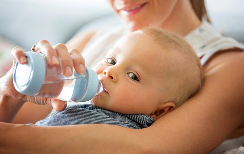Зимний питьевой режим малыша