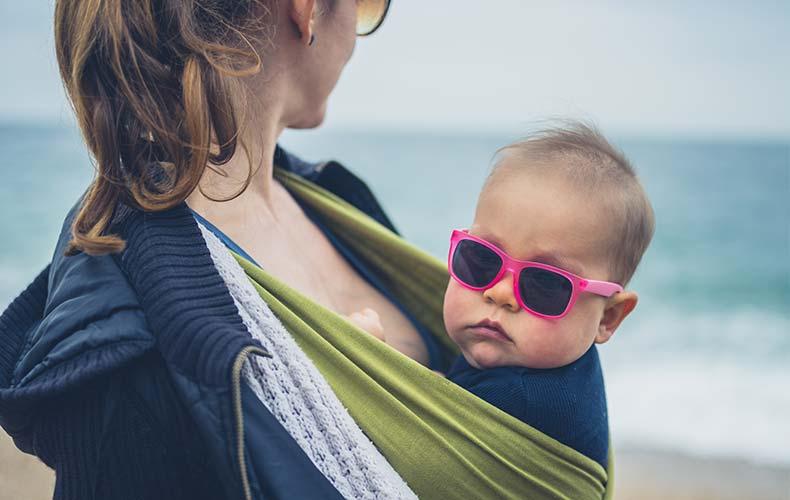 Аллергия на солнце у малыша