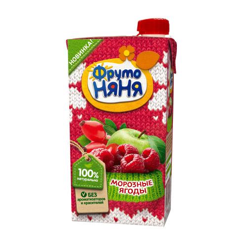 Нектар Яблоко-малина-шиповник «Морозные ягоды»