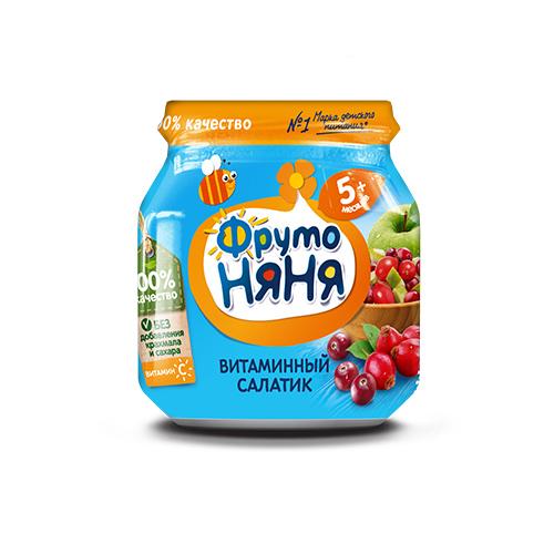 Пюре «Витаминный салатик»