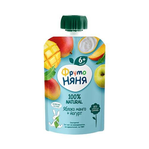 Пюре в пауче «Яблоко манго йогурт»