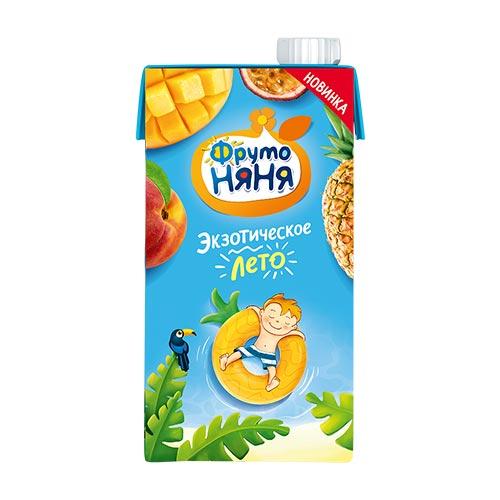 Нектар из смеси фруктов с манго «Экзотическое лето»
