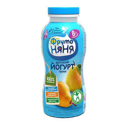 Йогурт питьевой груша
