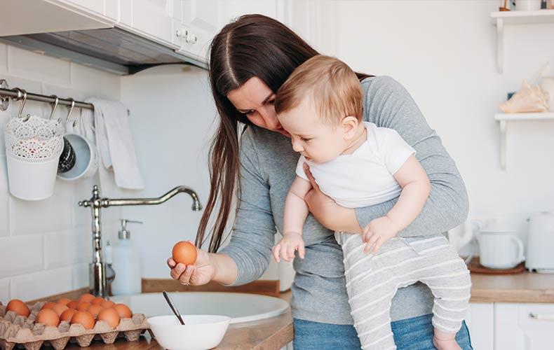 Яйцо в рационе малыша