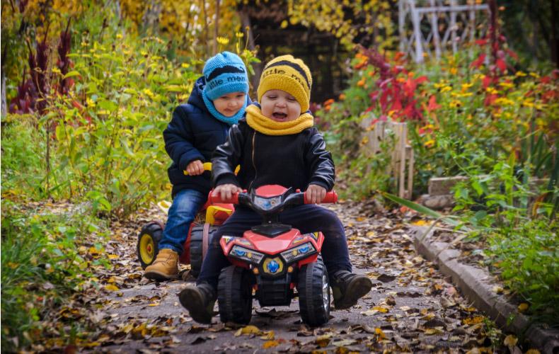 Чем заняться во время осенней прогулки с ребенком